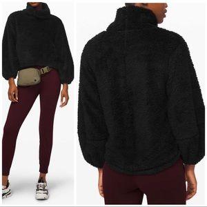 Lululemon NWT Warm Restore Sherpa Pullover M/L